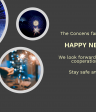 Concens wishes Happy New Year